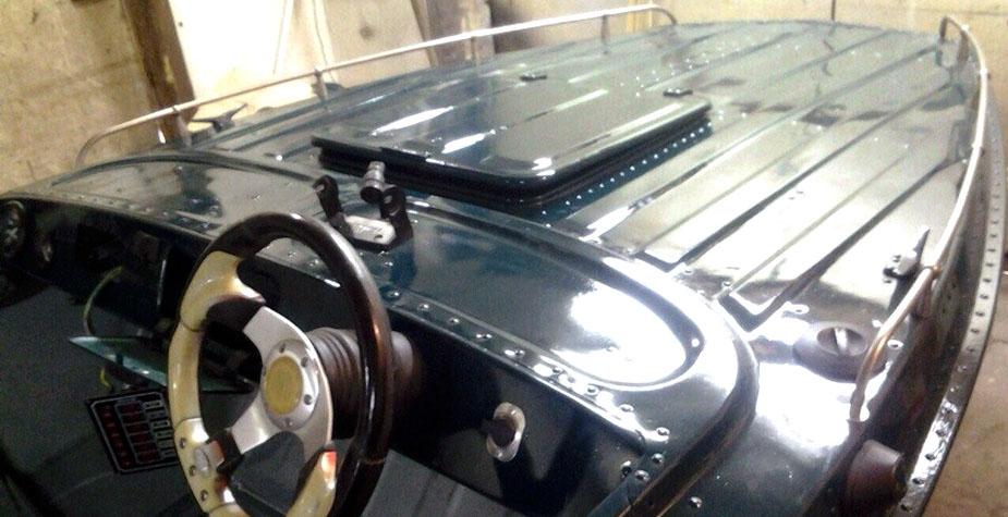 Установка рулевого редуктора для «Казанка 5М4»